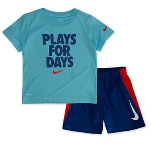 Baby Boy Nike Tee and Short Set